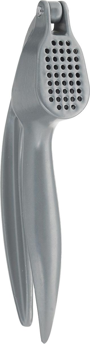 Пресс для чеснока Metaltex Garlic, цвет: металлик, длина 16 см25.14.04Пресс Metaltex Garlic выполнен из высококачественной стали. Он позволяет мгновенно измельчить крупный чеснок. Пресс займет достойное место среди аксессуаров на вашей кухне.Оригинальный дизайн и качество исполнения не оставят равнодушными ни тех, кто любит готовить, ни опытных профессионалов-поваров.Можно мыть в посудомоечной машине. Длина пресса: 16 см.Размер рабочей поверхности: 5 х 2,5 см.