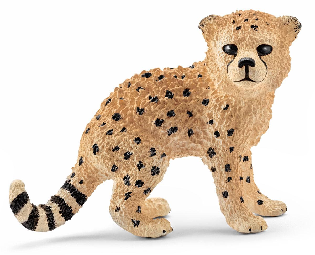 Schleich Фигурка Гепард детеныш интернет магазин гепард