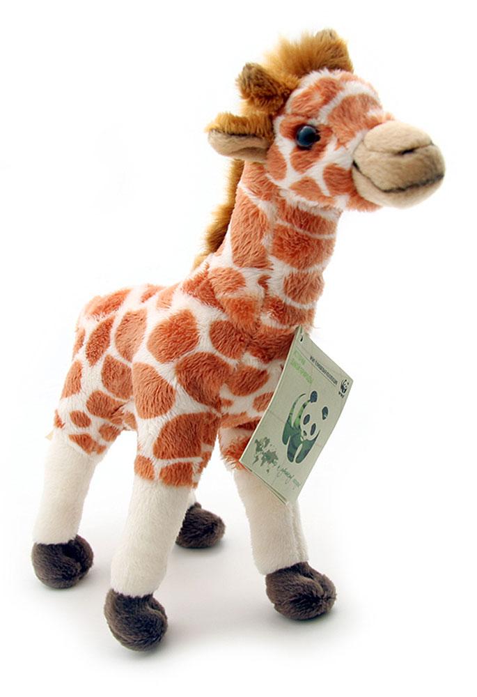 WWF Мягкая игрушка Жираф 18 см wwf кролик коричневый wwf мягкая игрушка 18 см