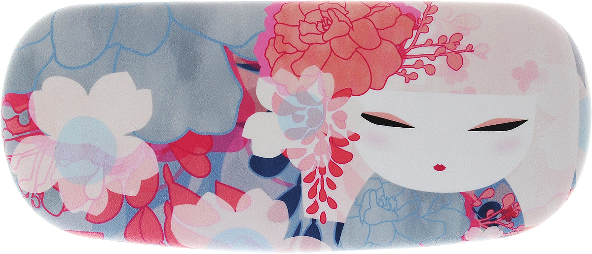 Футляр для очков женский Kimmidoll Чика, цвет: серый. KF1140 цепочки для очков germes цепочка металлическая для очков g 8