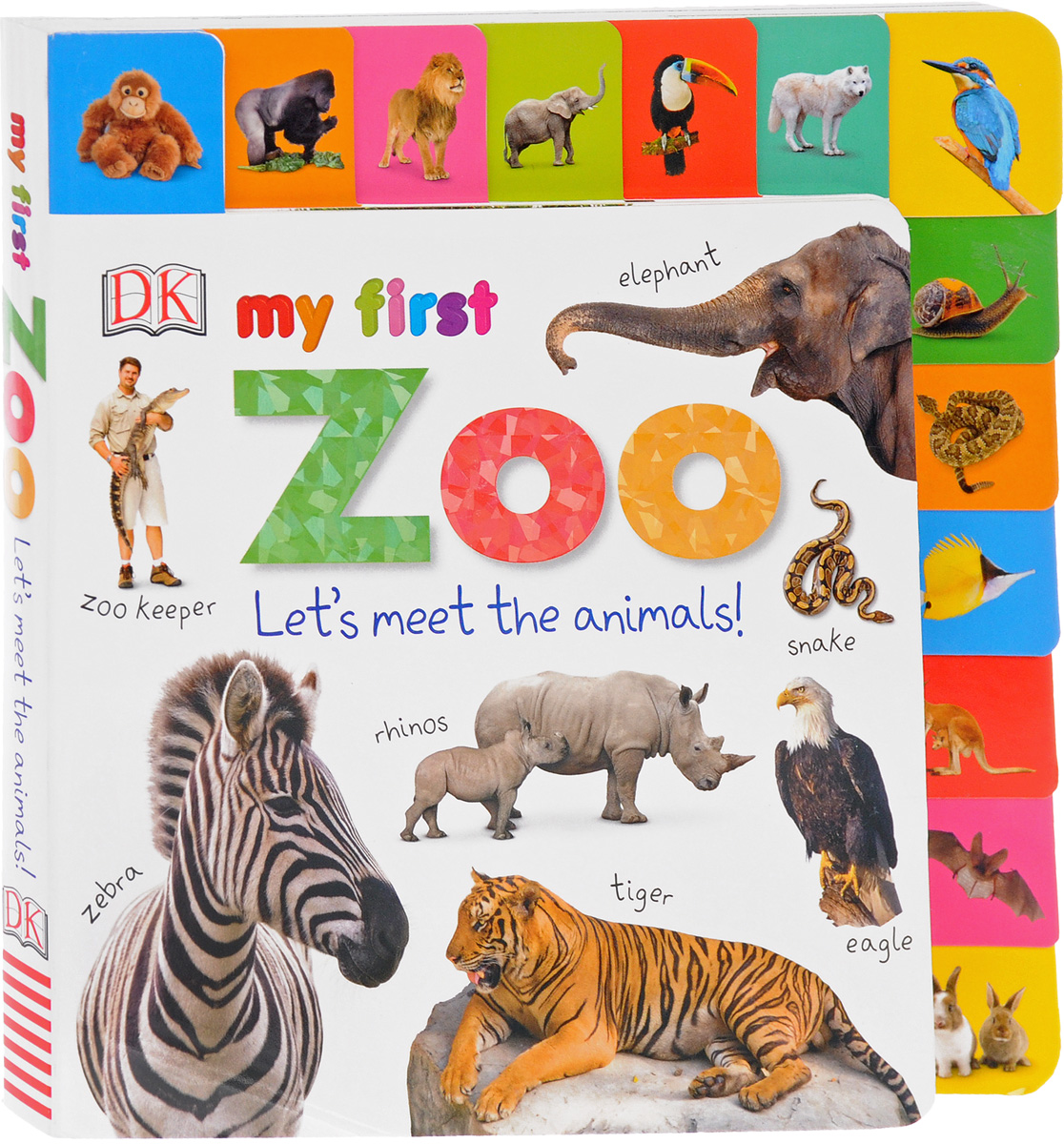 My First Zoo: Let's Meet the Animals! spot dobble find it board game for children fun with family gathering the animals paper quality card