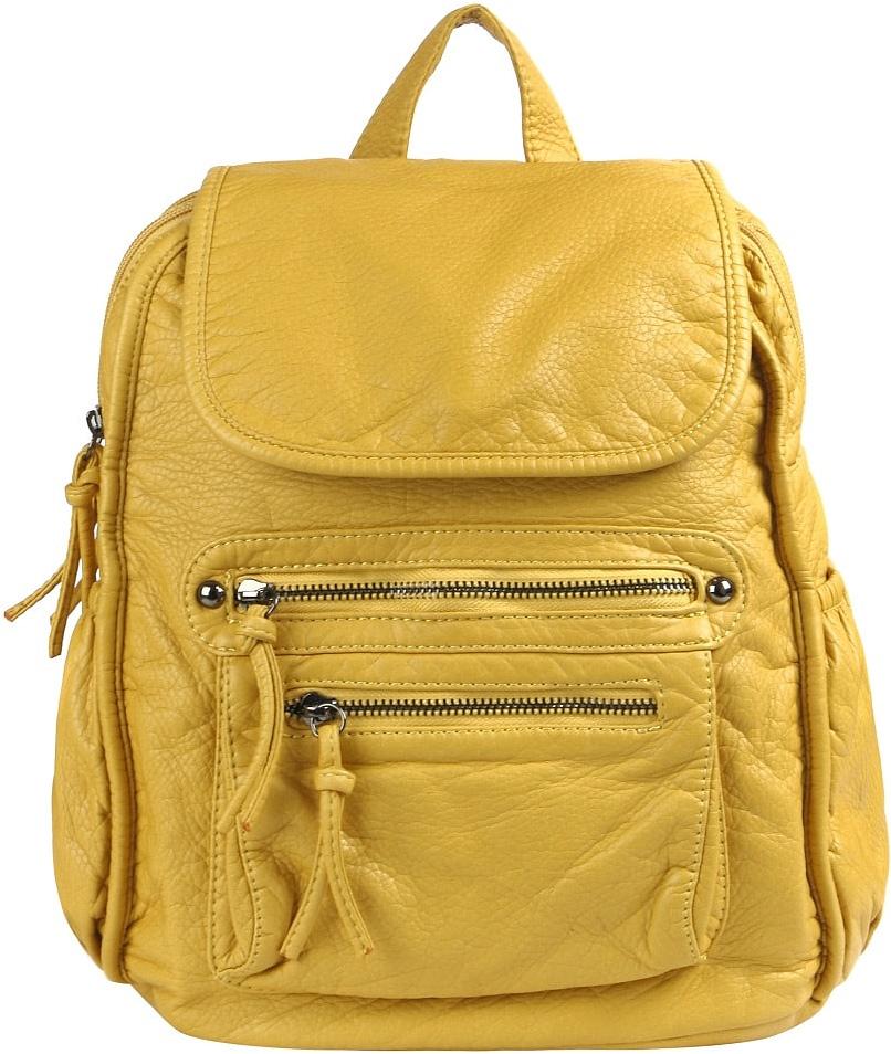 Рюкзак женский Jane's Story, цвет: желтый. GYZ-1509-67