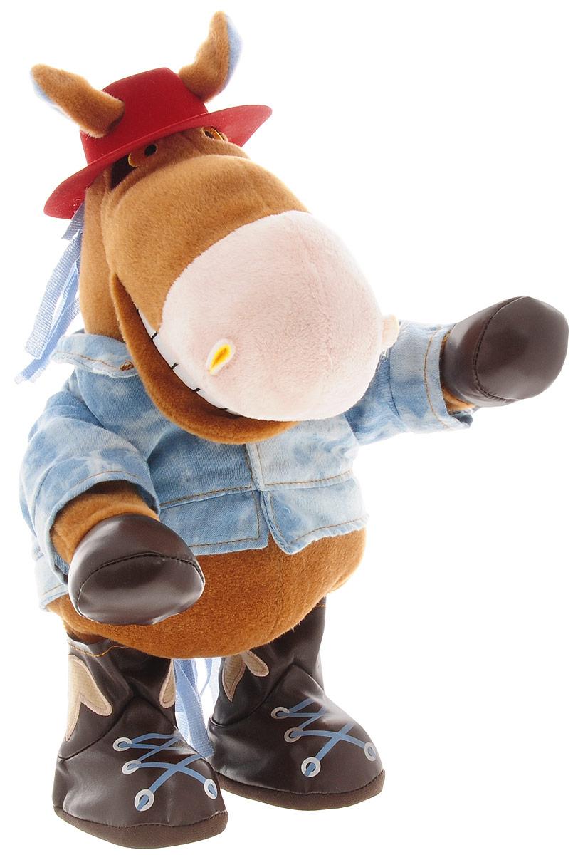 Анимированная игрушка Конь Ковбой, 32 см книги эксмо конь и его мальчик