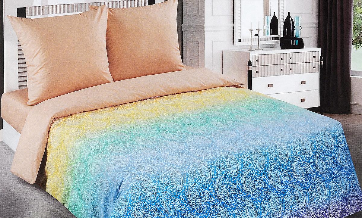 Комплект белья Арт Постель Лазурь, евро, наволочки 70x70 арт постель комплект постельного белья детскийпарк