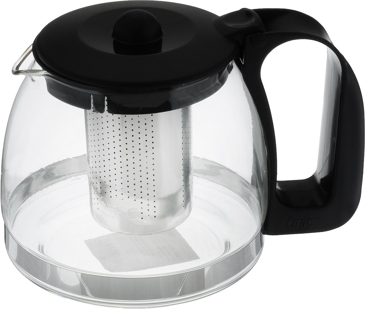 """Чайник заварочный """"Appetite"""" имеет корпус из термостойкого стекла (до 100°С), ручка и крышка изготовлены из пластика, а ситечко - из металла. Изделие отлично подходит для заваривания чая и травяных настоев. Прозрачные стенки позволяют видеть степень заварки. Изделие практично, обладает элегантным дизайном, его удобно использовать.  Не использовать в посудомоечной машине и СВЧ.  Диаметр основания: 11 см.  Высота чайника: 11 см.  Диаметр (по верхнему краю): 8 см."""