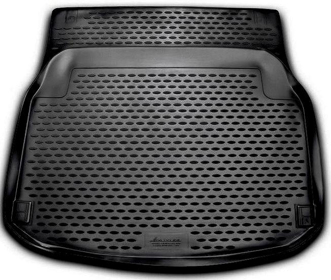 Коврик автомобильный Novline-Autofamily для Mercedes-Benz С-Klasse W204 седан 2011-, в багажникNLC.34.39.B10Автомобильный коврик Novline-Autofamily, изготовленный из полиуретана, позволит вам без особых усилий содержать в чистоте багажный отсек вашего авто и при этом перевозить в нем абсолютно любые грузы. Этот модельный коврик идеально подойдет по размерам багажнику вашего автомобиля. Такой автомобильный коврик гарантированно защитит багажник от грязи, мусора и пыли, которые постоянно скапливаются в этом отсеке. А кроме того, поддон не пропускает влагу. Все это надолго убережет важную часть кузова от износа. Коврик в багажнике сильно упростит для вас уборку. Согласитесь, гораздо проще достать и почистить один коврик, нежели весь багажный отсек. Тем более, что поддон достаточно просто вынимается и вставляется обратно. Мыть коврик для багажника из полиуретана можно любыми чистящими средствами или просто водой. При этом много времени у вас уборка не отнимет, ведь полиуретан устойчив к загрязнениям.Если вам приходится перевозить в багажнике тяжелые грузы, за сохранность коврика можете не беспокоиться. Он сделан из прочного материала, который не деформируется при механических нагрузках и устойчив даже к экстремальным температурам. А кроме того, коврик для багажника надежно фиксируется и не сдвигается во время поездки, что является дополнительной гарантией сохранности вашего багажа.Коврик имеет форму и размеры, соответствующие модели данного автомобиля.