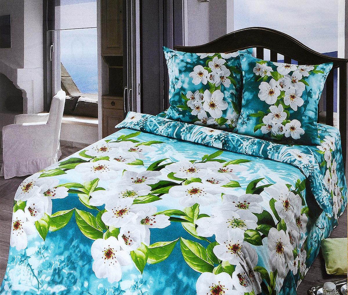 Комплект белья Арт Постель Адель, 2-спальный, наволочки 70x70 комплект белья арт постель на гребне волны 2 спальный наволочки 70х70 50х70