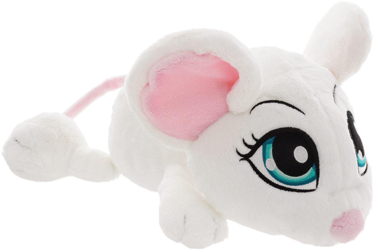 Nici Мягкая игрушка Мышка цвет белый 35 см мягкая игрушка овечка эми 35 см nici 36330