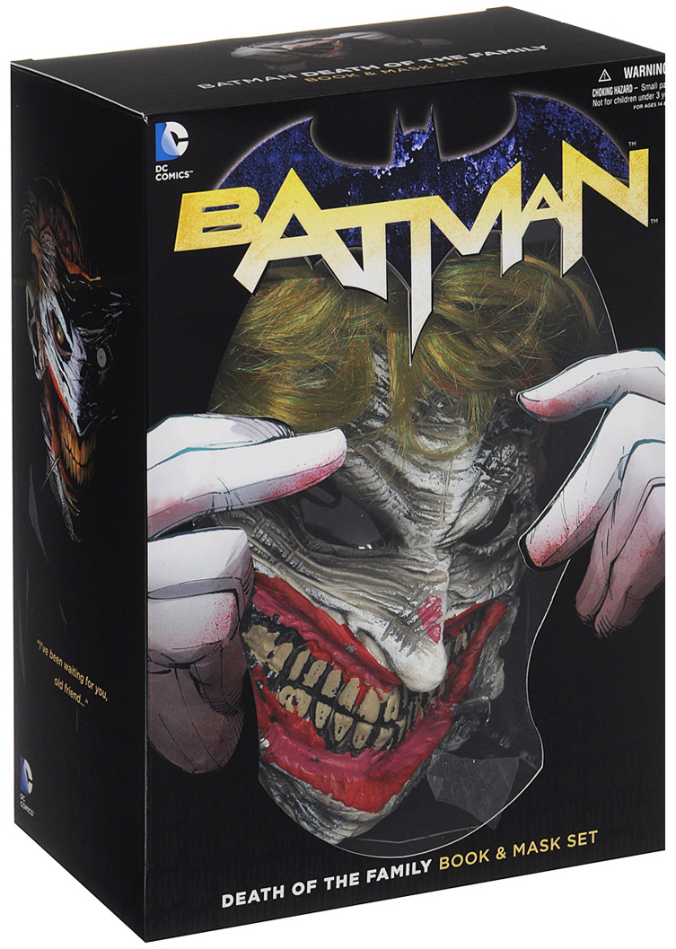 Batman: Volume 3: Death of the Family: Book & Mask Set the little book of batman
