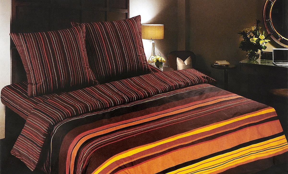 Постельное белье Арт Постель Шоколад, 1,5 спальный, наволочки 70х70 комплект белья арт постель на гребне волны 2 спальный наволочки 70х70 50х70