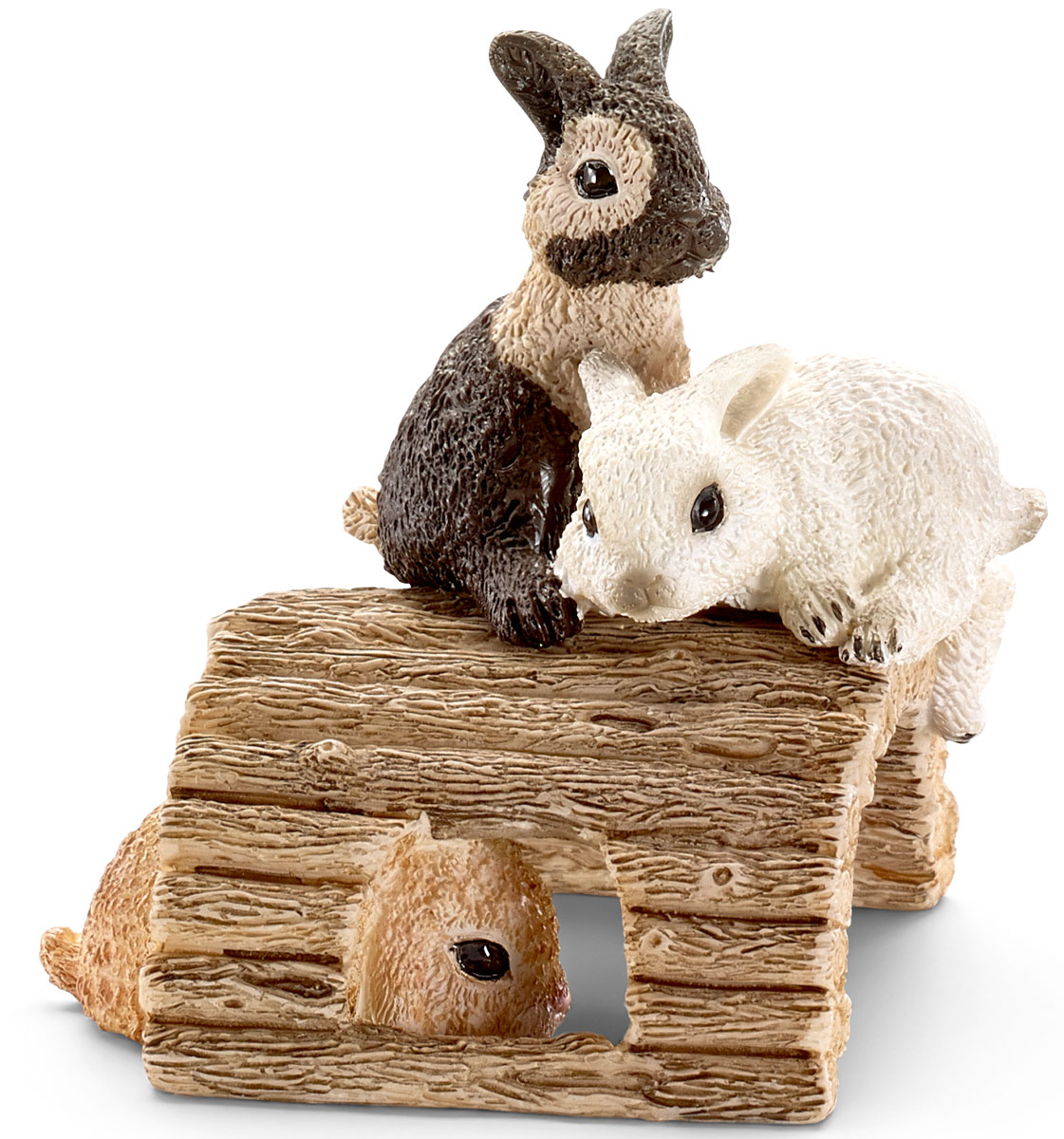 Schleich Фигурка Кролики игрушка schleich фигурка вислоухий кролик