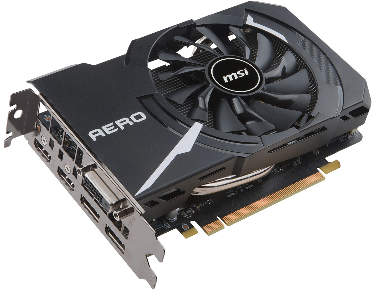 MSI GeForce GTX 1060 Aero ITX 3G OC 3GB видеокарта