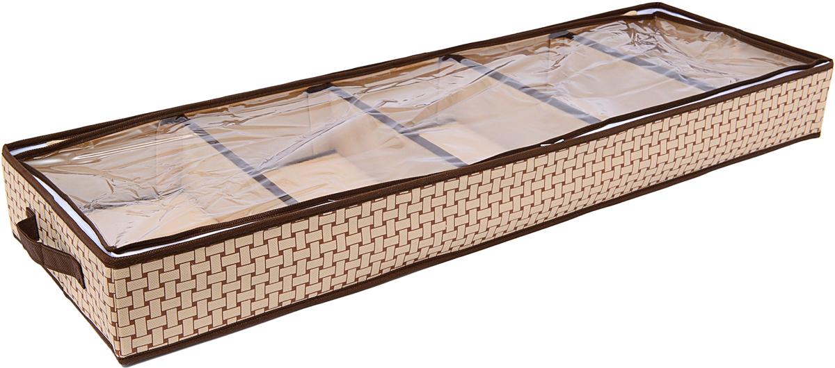 Органайзер для обуви Homsu Pletenka, 5 отделений, 100 х 32 х 11 см украшение декоративное homsu голова оленя 29 5 x 46 x 42 5 см
