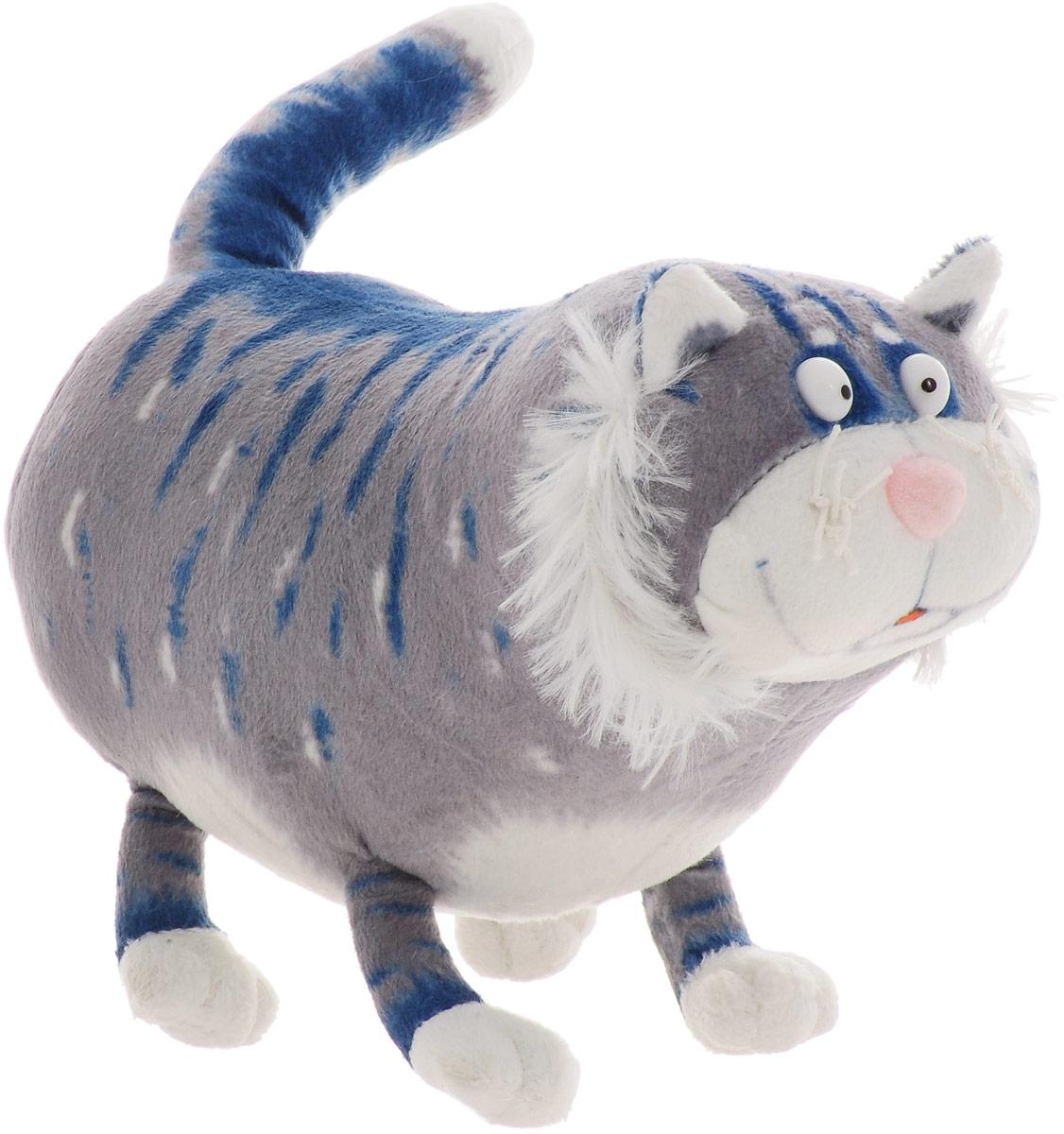 Мягкая игрушка Котик Кузя, 18 см