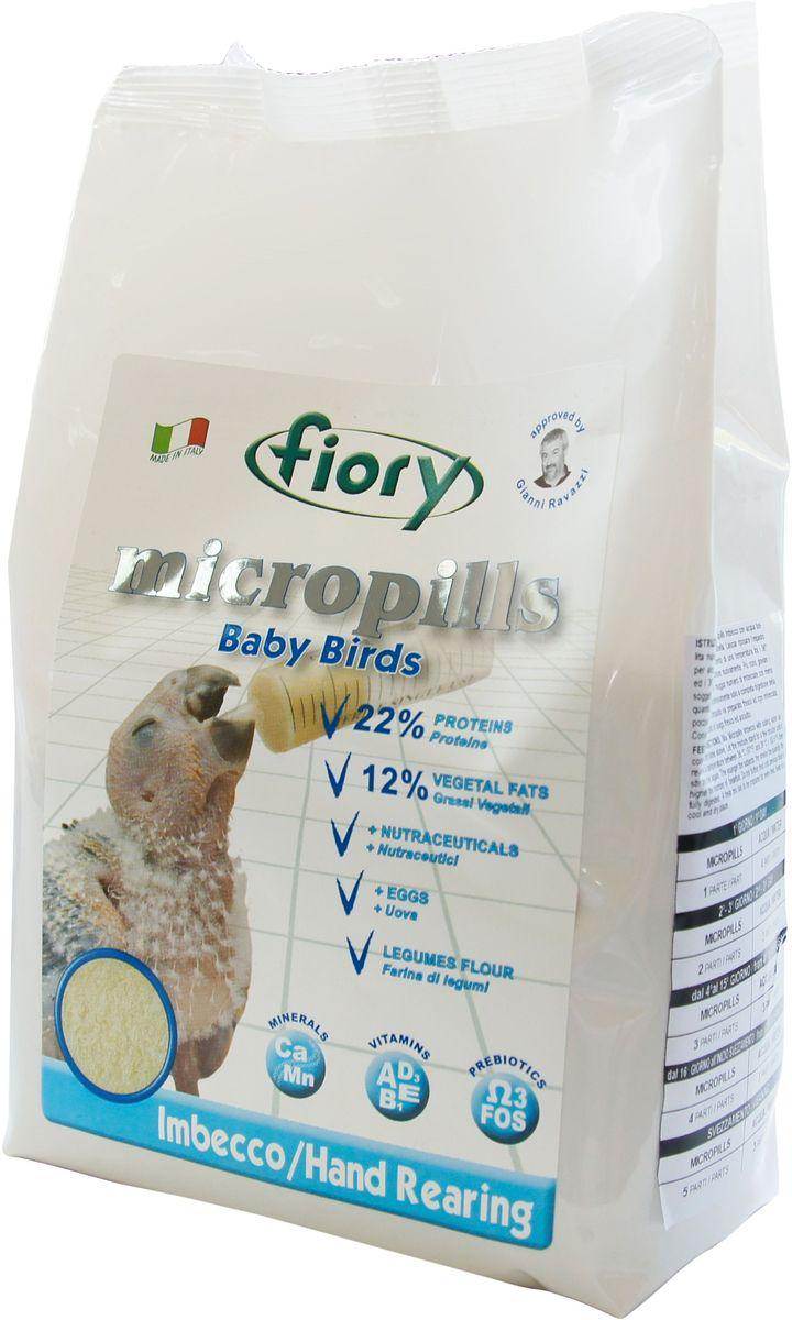 Корм сухой Fiory Micropills Baby Birds, для птенцов, для ручного вскармливания, 1,5 кг пудовъ мука ржаная обдирная 1 кг