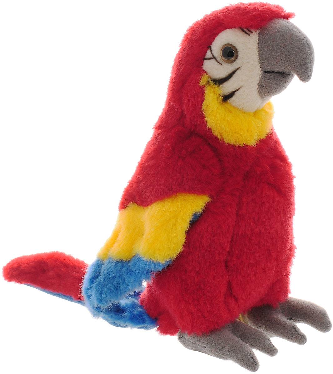 WWF Мягкая игрушка Красный попугай 18 см wwf кролик коричневый wwf мягкая игрушка 18 см
