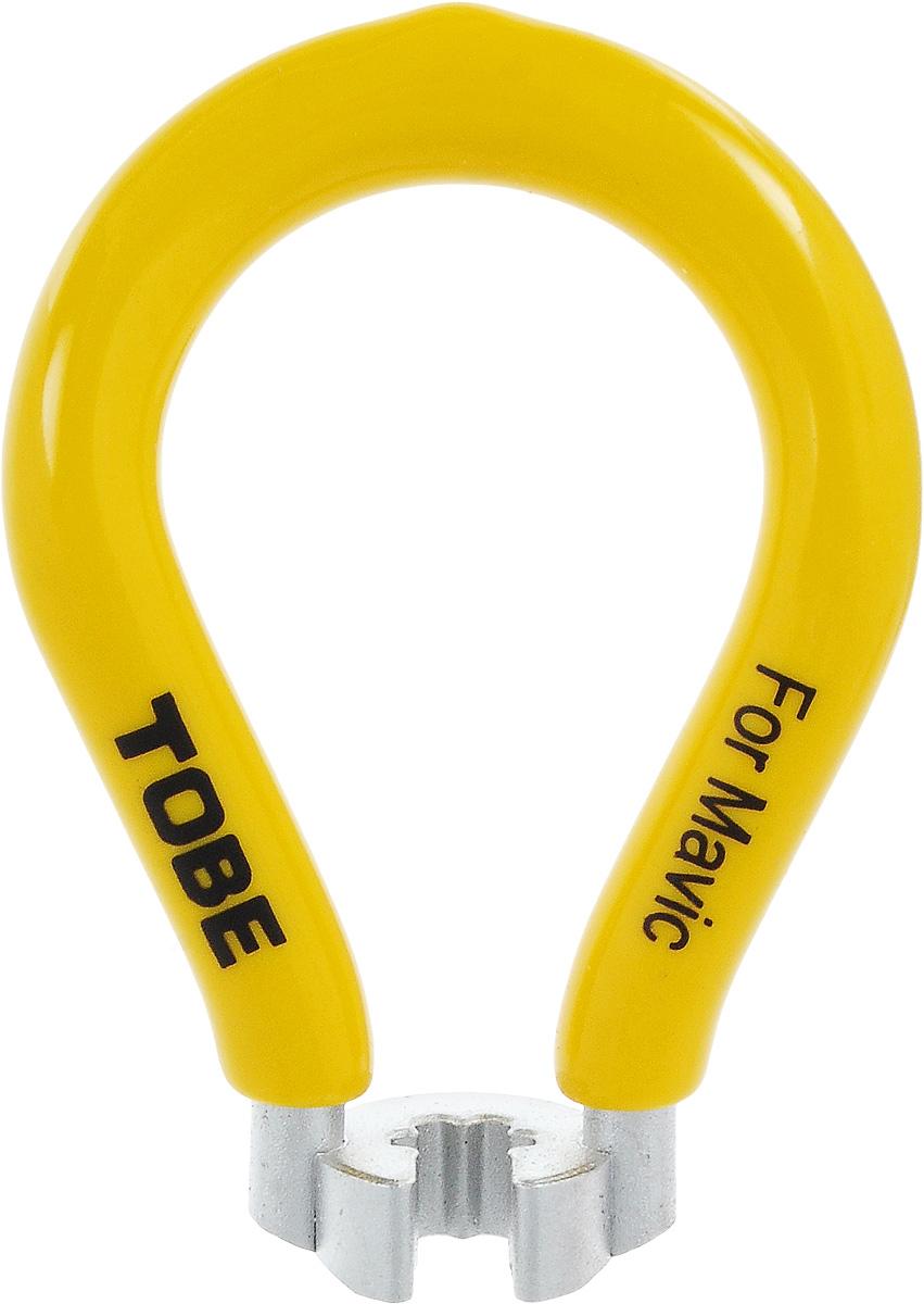 Ключ спицевой для велосипеда To Be, нипель 7 мм2065Ключ спицевой To Be необходим для устранения поломок системы колес велосипеда. Одноразмерный спицевой ключ выполнен из никелированный закаленной стали с виниловым покрытием.