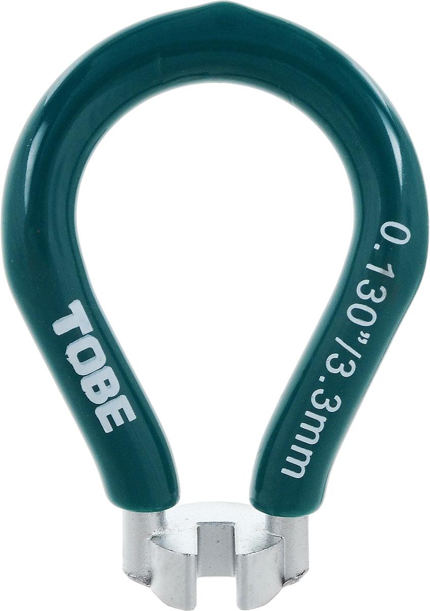 Ключ спицевой для велосипеда To Be, нипель 3,3 мм2063Ключ спицевой To Be необходим для устранения поломок системы колес велосипеда. Одноразмерный спицевой ключ выполнен из никелированный закаленной стали с виниловым покрытием.