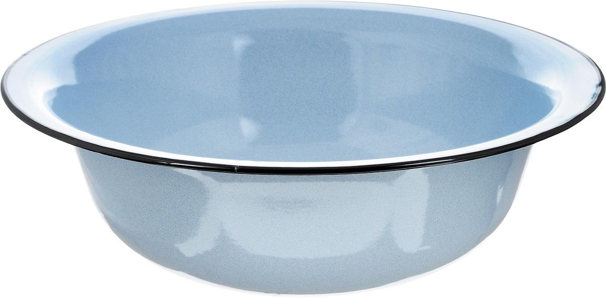 Таз эмалированный Лысьвенские эмали, цвет: голубой, 12 л. С-3024/РбС-3024/РбТаз Лысьвенские эмали изготовлен из высококачественной стали с эмалированным покрытием. Эмалевое покрытие, являясь стекольной массой, не вызывает аллергию и надежно защищает пищу от контакта с металлом. Кроме того, такое покрытие долговечно, устойчиво к механическому воздействию, не царапается и не сходит, а стальная основа практически не подвержена механической деформации, благодаря чему срок эксплуатации увеличивается.Эмалированный таз является универсальным хозяйственным инвентарем и необходимым предметом для дачника: в нем удобно хранить и готовить продукты, а также собирать ягоды, фрукты и овощи. Таз широкий и невысокий, он идеально подходит для варки варенья, так как жидкость быстрее испаряется. Диаметр таза (по верхнему краю): 45 см. Высота таза: 13,5 см.