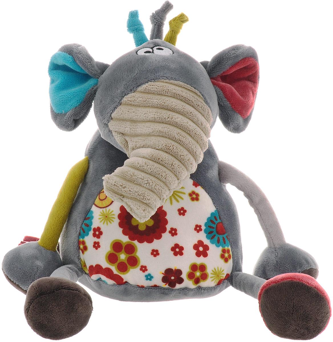 Gulliver Мягкая игрушка Слоник Робби 22 см мягкие игрушки gulliver игрушка овечка с красным сердечком 22 см