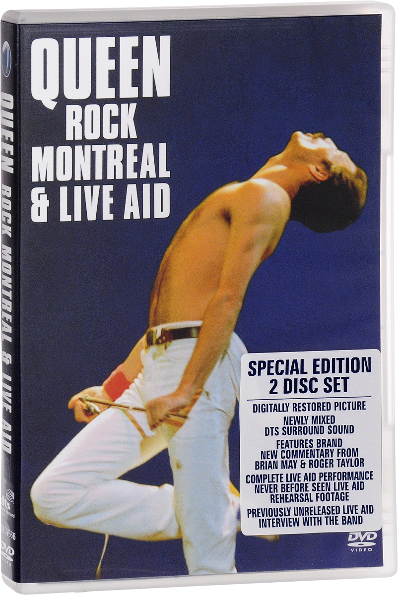 Queen: Rock Montreal & Live Aid (2 DVD) save the queen ohdd повседневные брюки