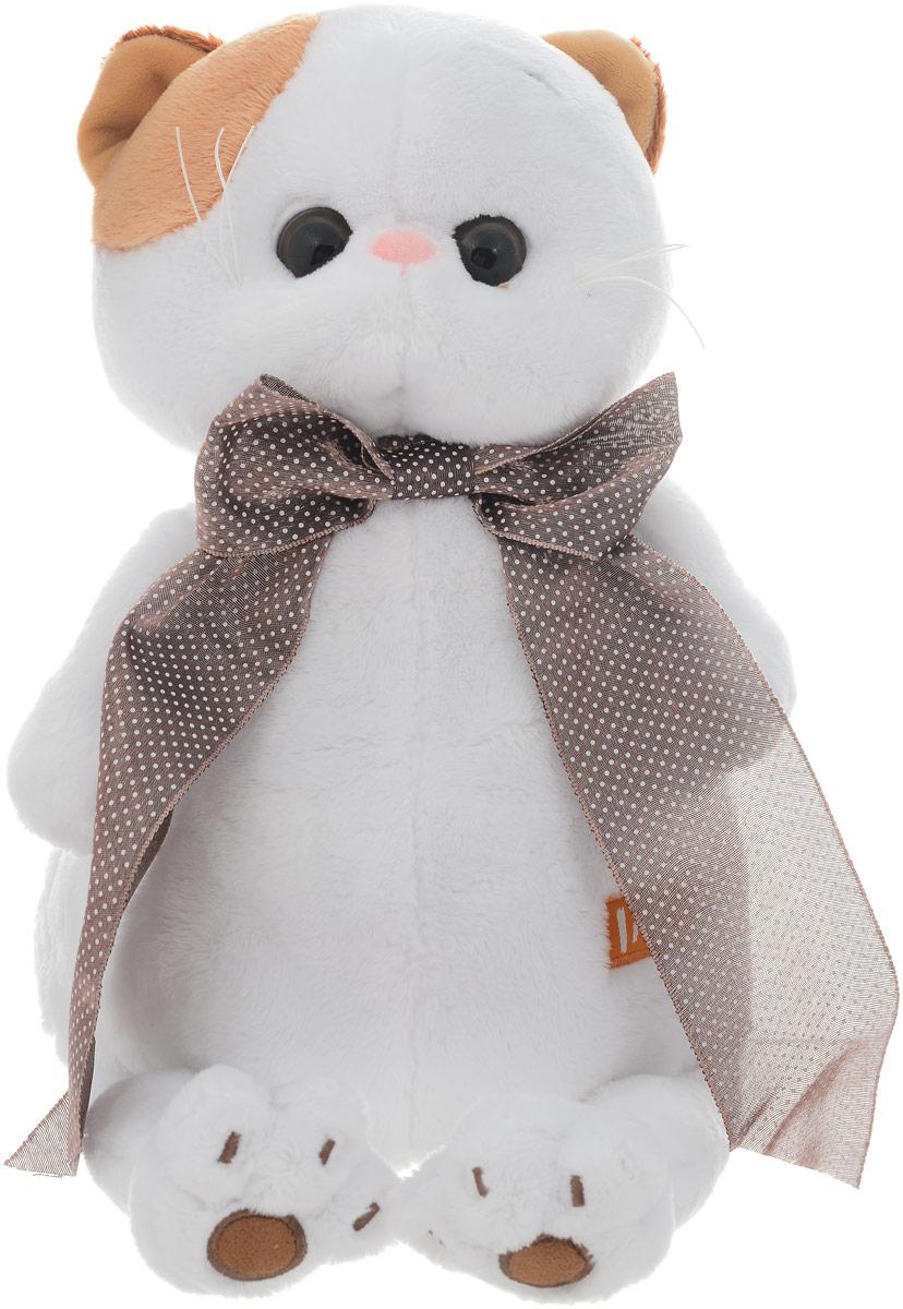 Кошечка Ли-Ли Мягкая игрушка Ли-Ли с атласным коричневым бантом 27 см эймис ли дж пошаговый метод рисования ли эймиса