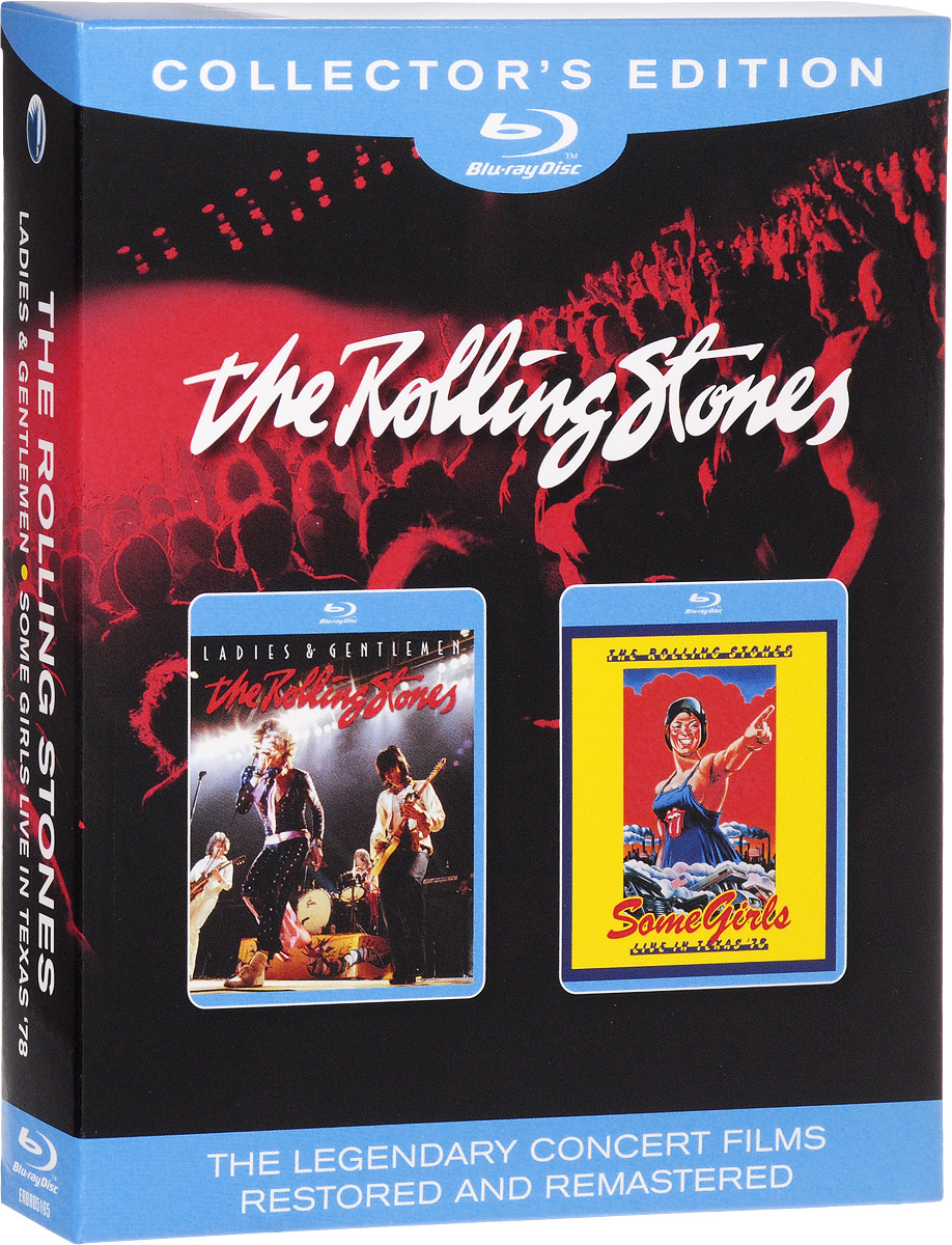 The Rolling Stones. Ladies & Gentlemen / Some Girls Live In Texas '78 (2 Blu-ray) raspberry pi 3 model b motherboard
