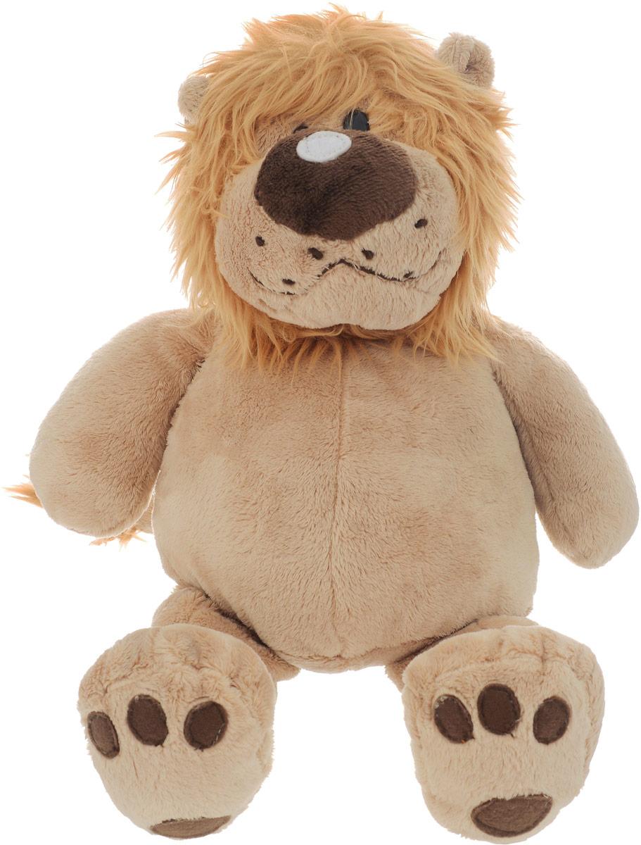 Gulliver Мягкая игрушка Лев Лева сидячий 40 см львенок лева