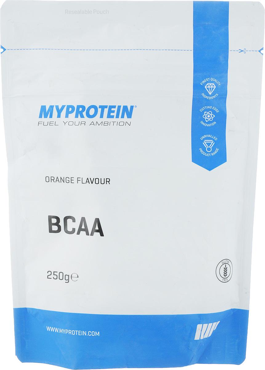Аминокислоты Myprotein BCAA 2:1:1, апельсин, 250 г prolab bcaa prolab plus 180капс