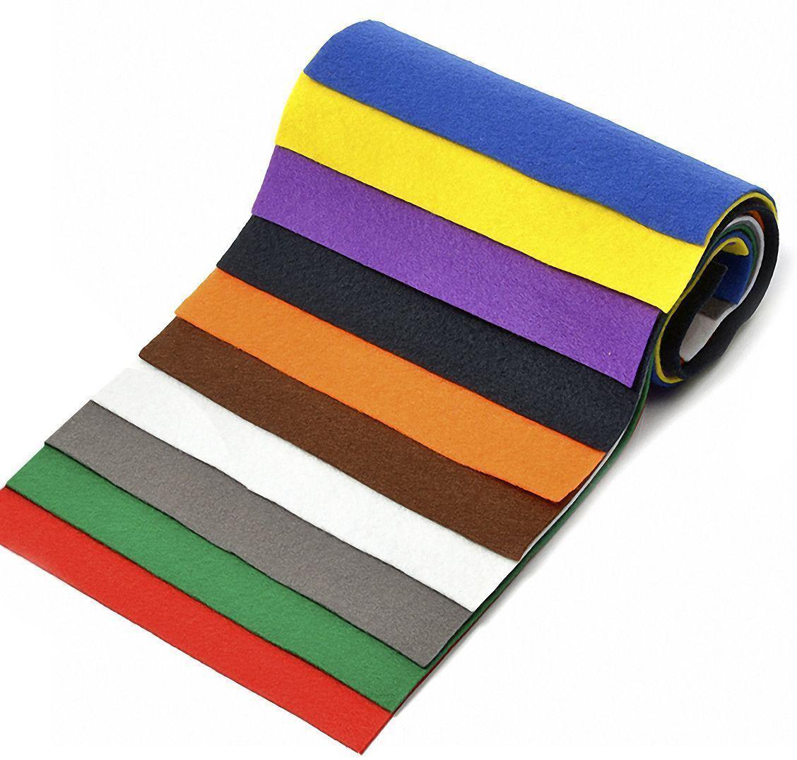 Набор листового фетра Ideal, мягкий, 1 мм, 20 х 30 см, упаковка 10 листов. TBY.FLT-SA1TBY.FLT-SA1