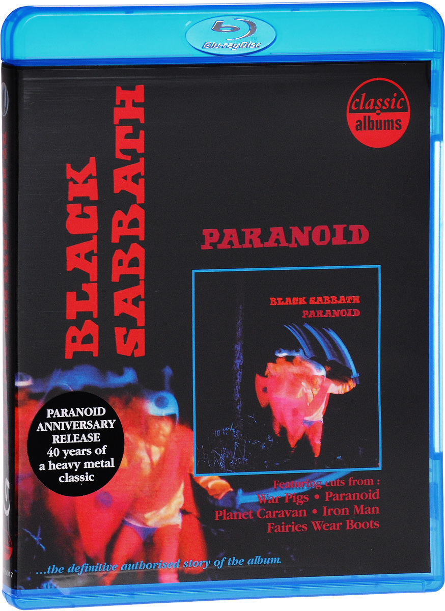 Black Sabbath: Paranoid (Blu-ray) the berlin concert domingo netrebko villazon blu ray