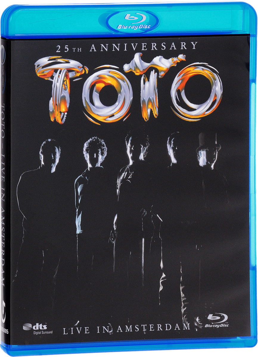 Toto. Live In Amsterdam. 25th Anniversary (Blu-ray) toto tour live in poland 35th anniversary blu ray