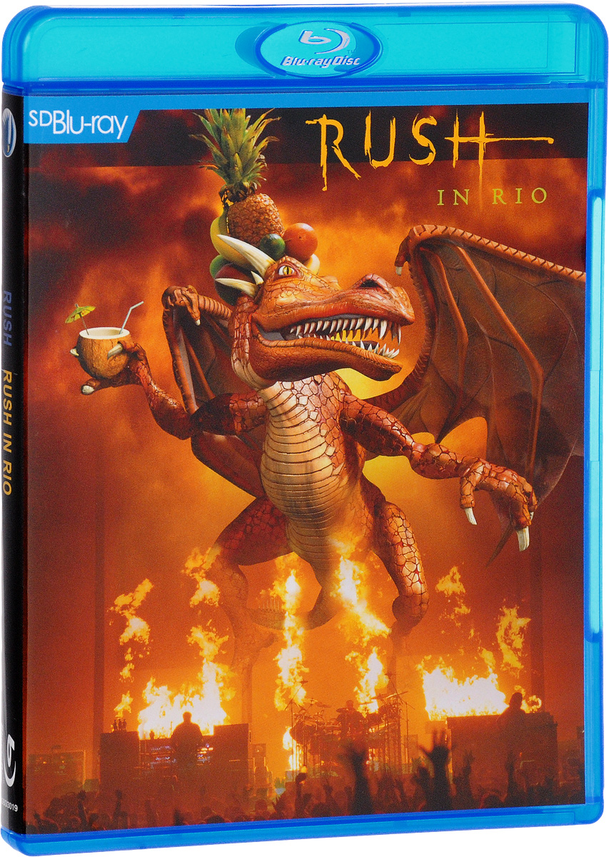 Rush: Rush In Rio (Blu-ray) rush rush signals blu ray audio