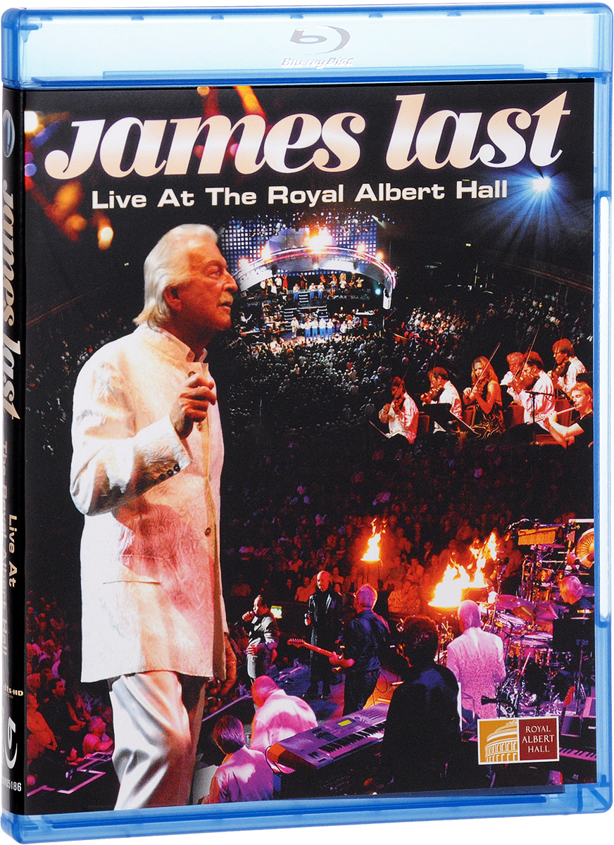 James Last: Live At The Royal Albert Hall (Blu-ray) europe live at shepherd s bush london blu ray