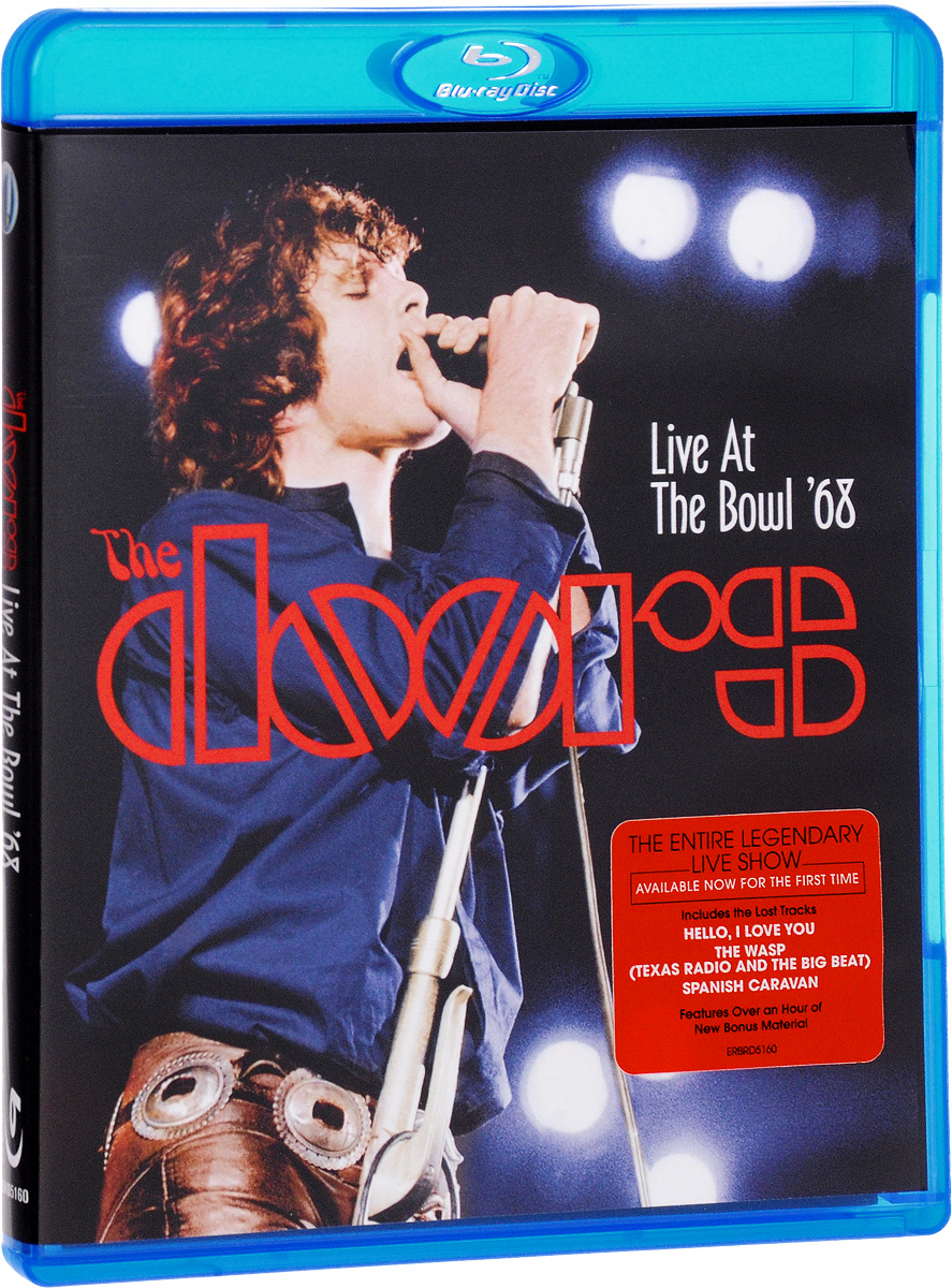 The Doors: Live at the Bowl '68 (Blu-ray) тарелка крэш zultan 18 rock beat crash