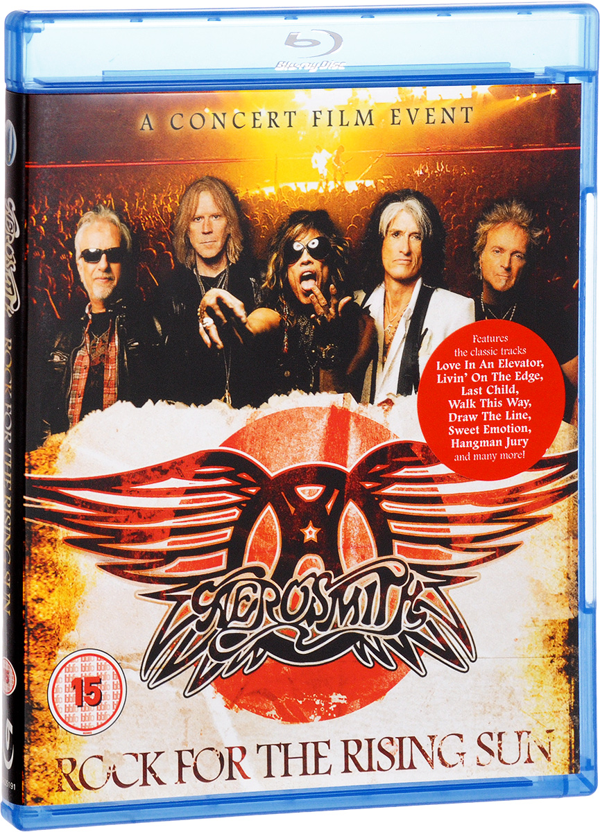 Aerosmith: Rock For The Rising Sun (Blu-ray) aerosmith devil s got a new disguise – the very best of aerosmith cd
