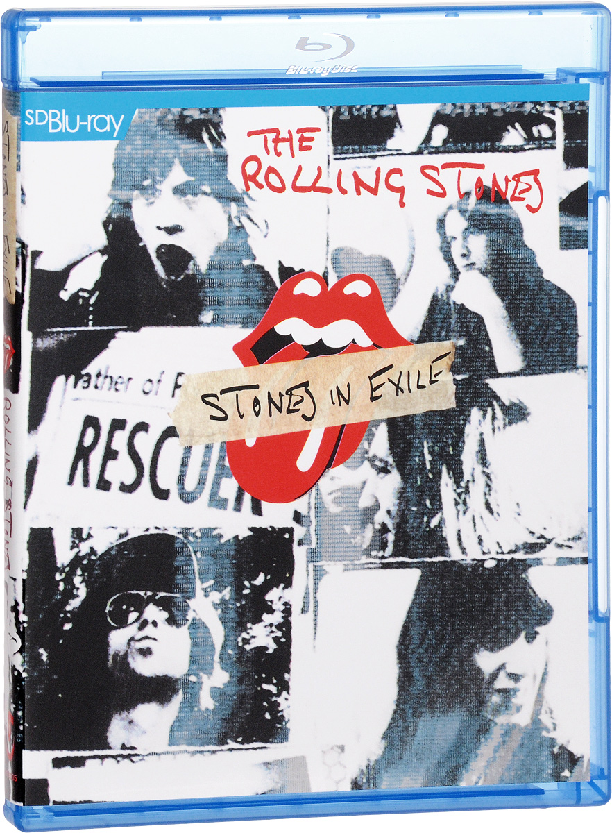 The Rolling Stones: Stones In Exile (Blu-ray) health colorful chakra stones hollowed leaf necklace for women