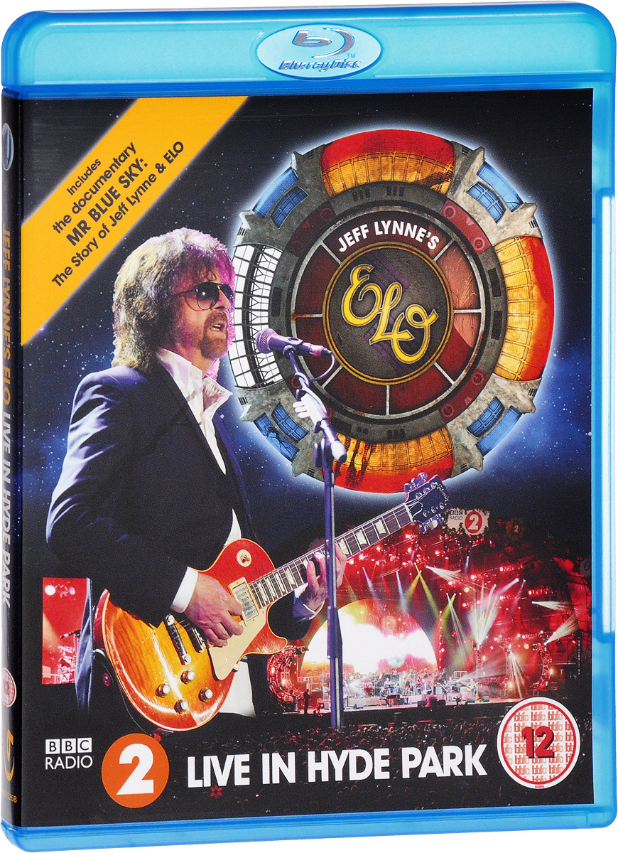 Jeff Lynne's ELO: Live In Hyde Park (Blu-ray) celine dion through the eyes of the world blu ray