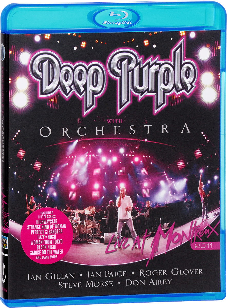 Deep Purple With Orchestra: Live At Montreux 2011 (Blu-ray) deep purple deep purple stormbringer 35th anniversary edition cd dvd