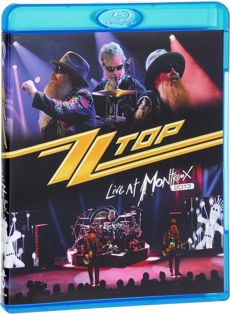 ZZ Top. Live At Montreux 2013 (Blu-ray) toto tour live in poland 35th anniversary blu ray