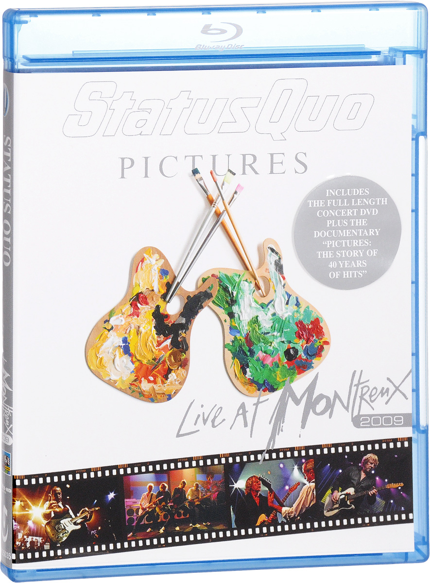 Status Quo. Pictures: Live At Montreux 2009 (Blu-ray) zz top live at montreux 2013 blu ray