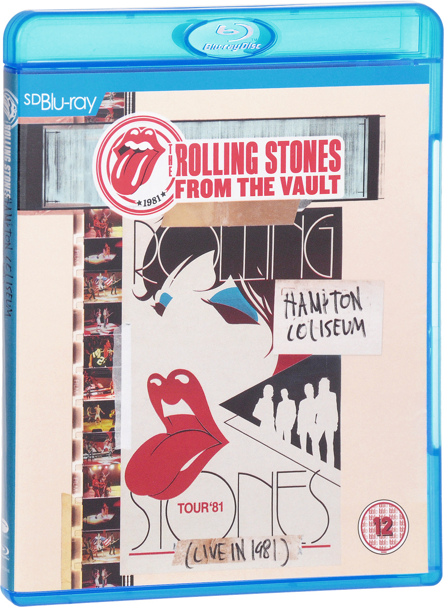 The Rolling Stones: From The Vault Hampton Coliseum (Live In 1981) (Blu-ray) magnum live in concert