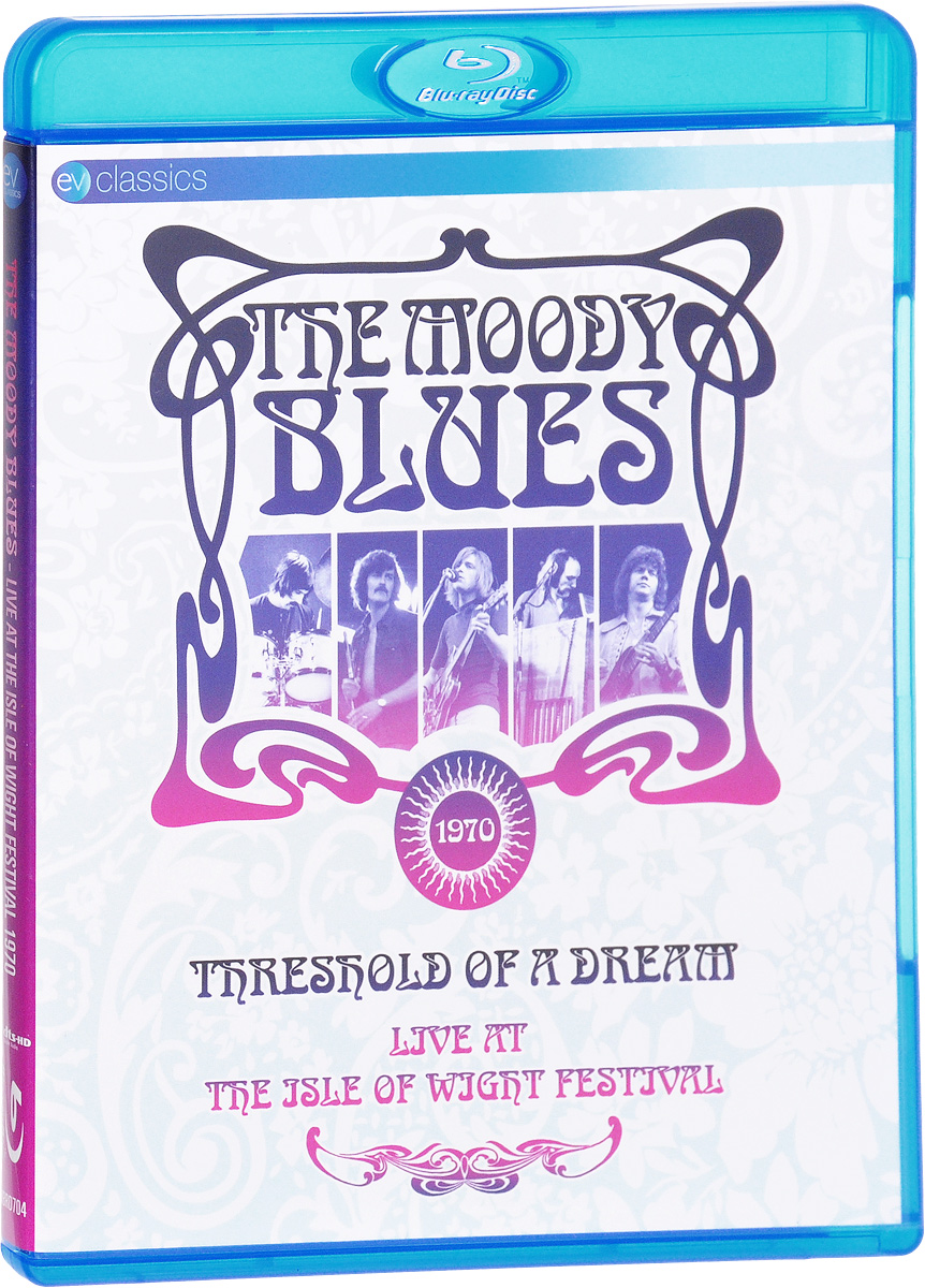 The Moody Blues - Threshold Of A Dream: Live At The Isle Of Wight Festival (Blu-ray) inc new beige women s size small s faux leather knit motorcycle jacket $99