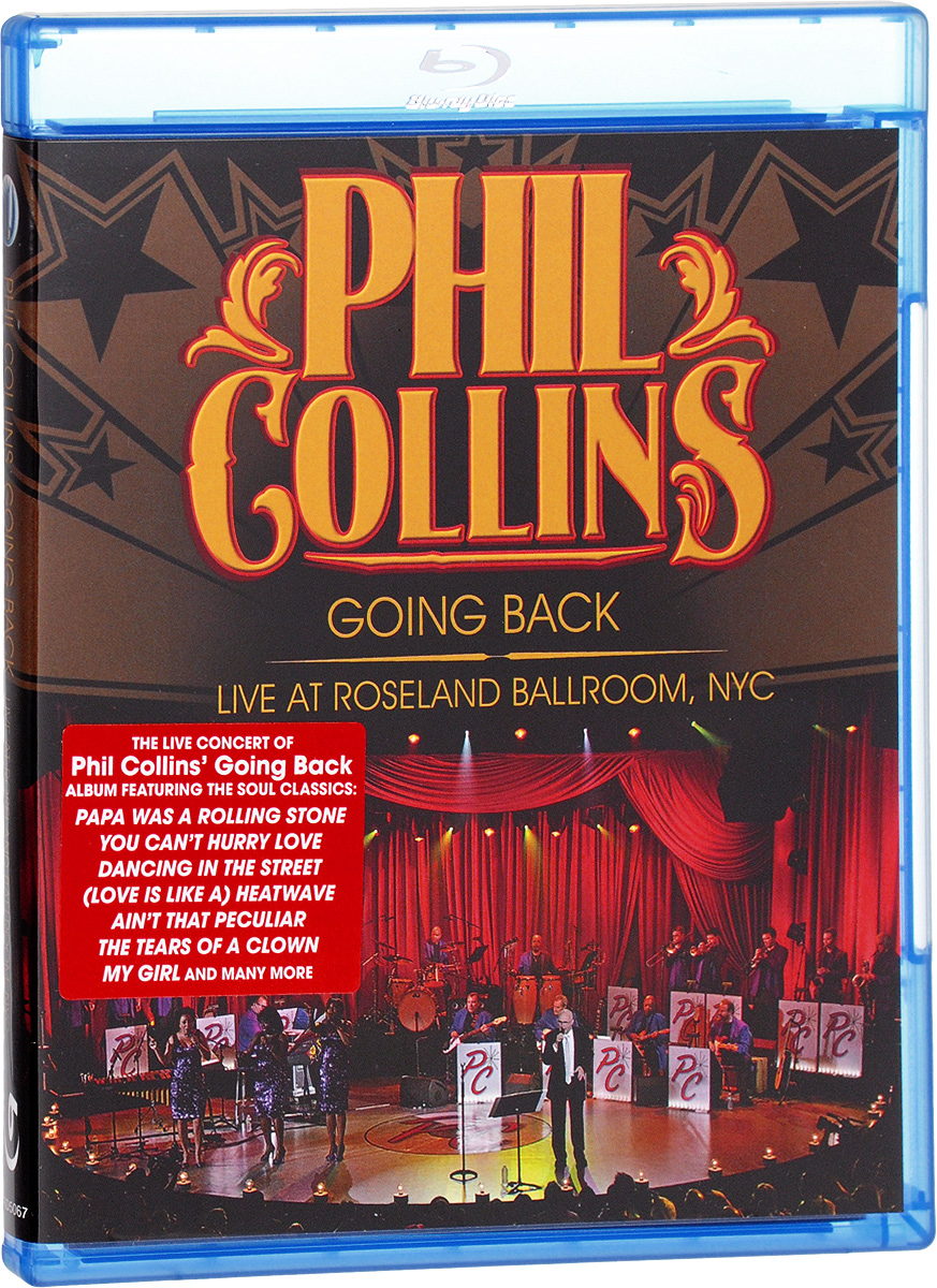 Phil Collins - Going Back: Live at Roseland Ballroom NYC (Blu-ray) phil collins going back live at roseland ballroom blu ray