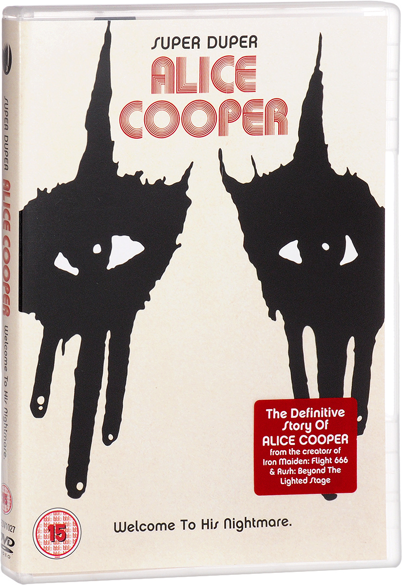Alice Cooper: Super Duper Alice Cooper. Welcome To His Nightmare john cooper clarke manchester