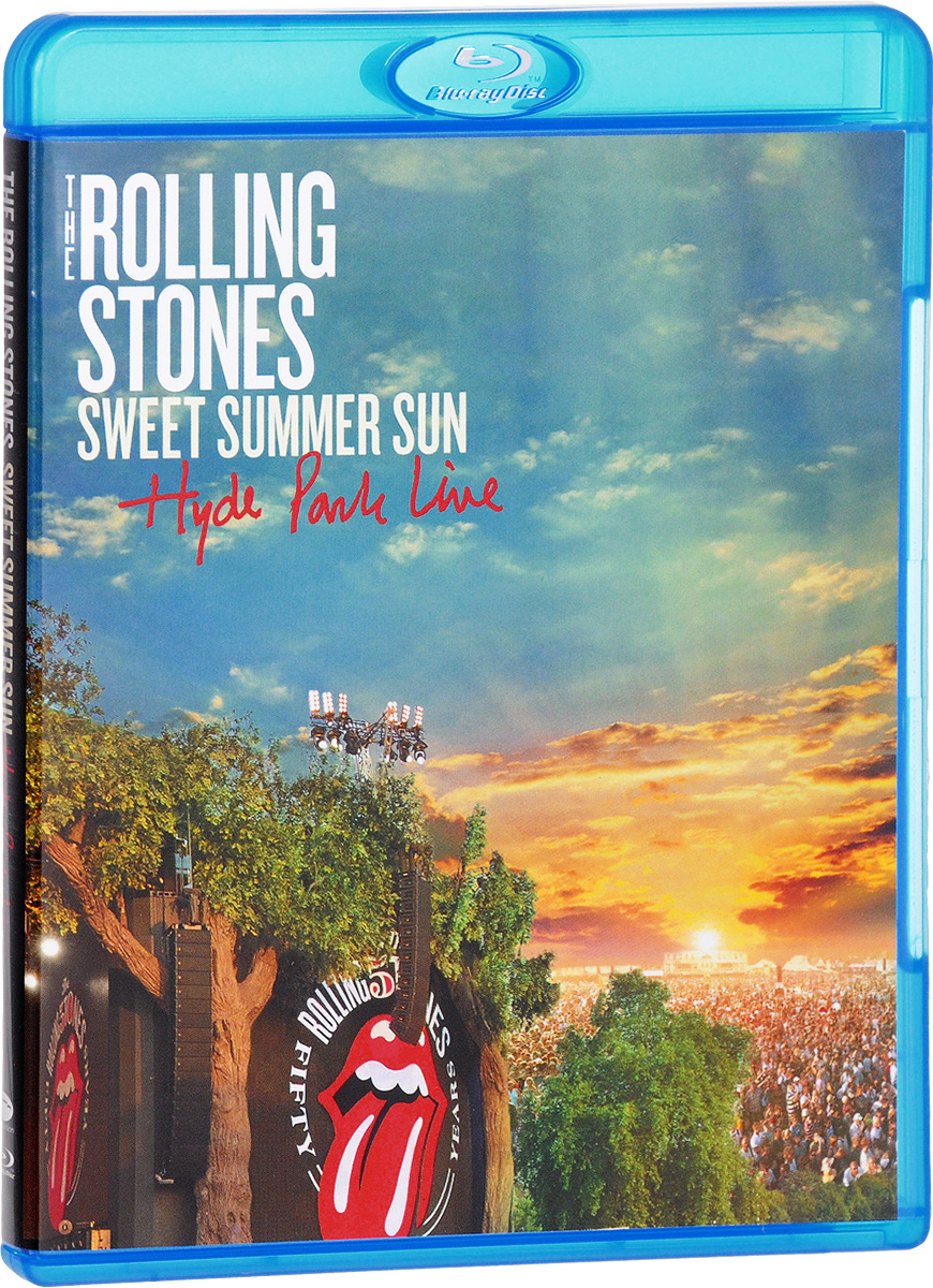 The Rolling Stones: Sweet Summer Sun - Hyde Park Live (Blu-ray) the rolling stones sweet summer sun hyde park live blu ray