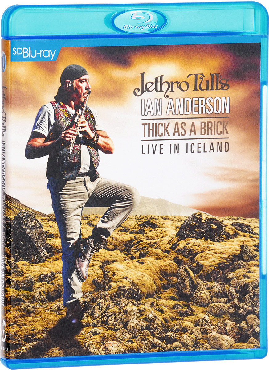 Jethro Tull' s Ian Anderson: Thick As A Brick-Live in Iceland (Blu-ray) francis rossi live from st luke s london blu ray