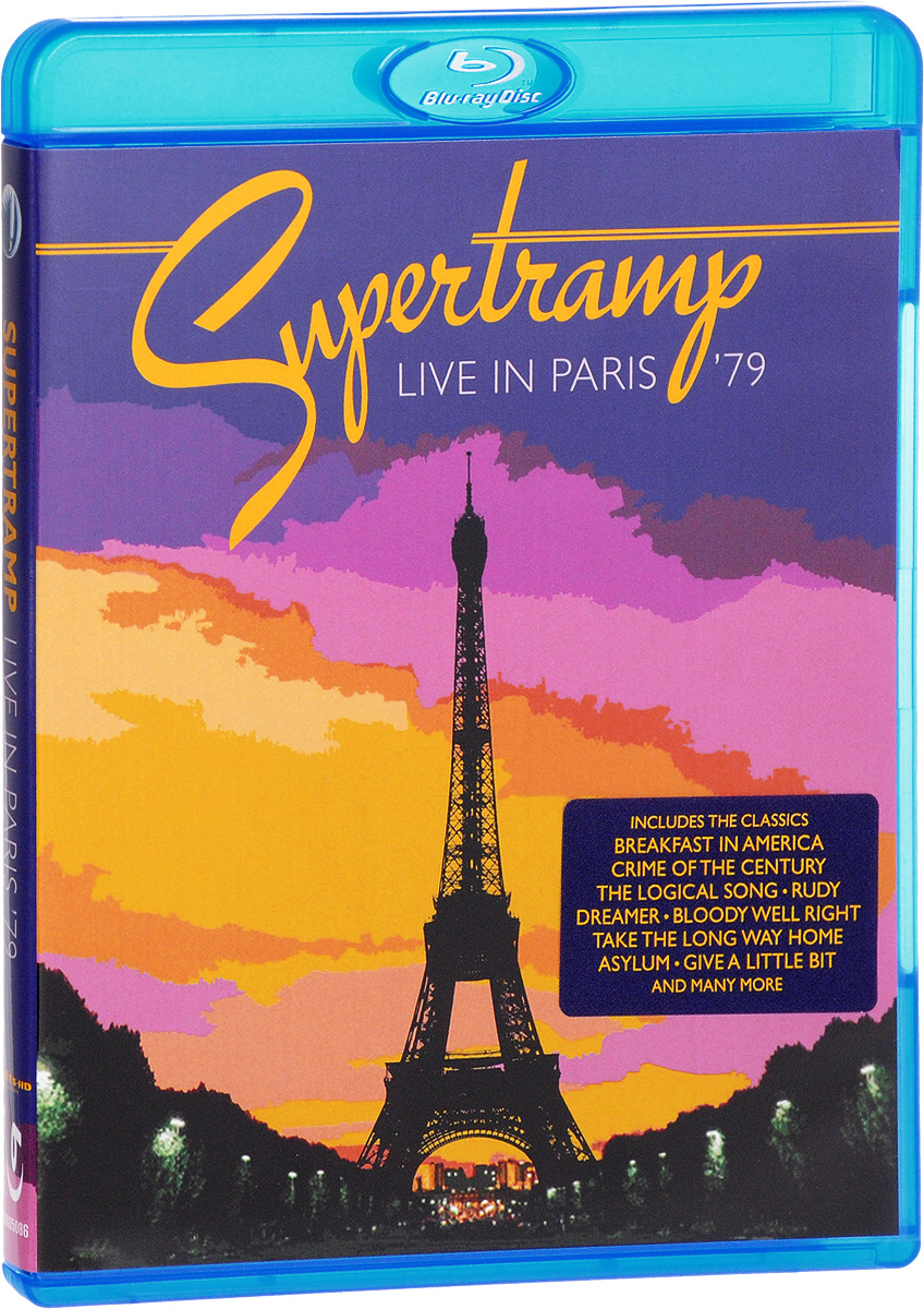 Supertramp: Live In Paris '79 (Blu-ray)