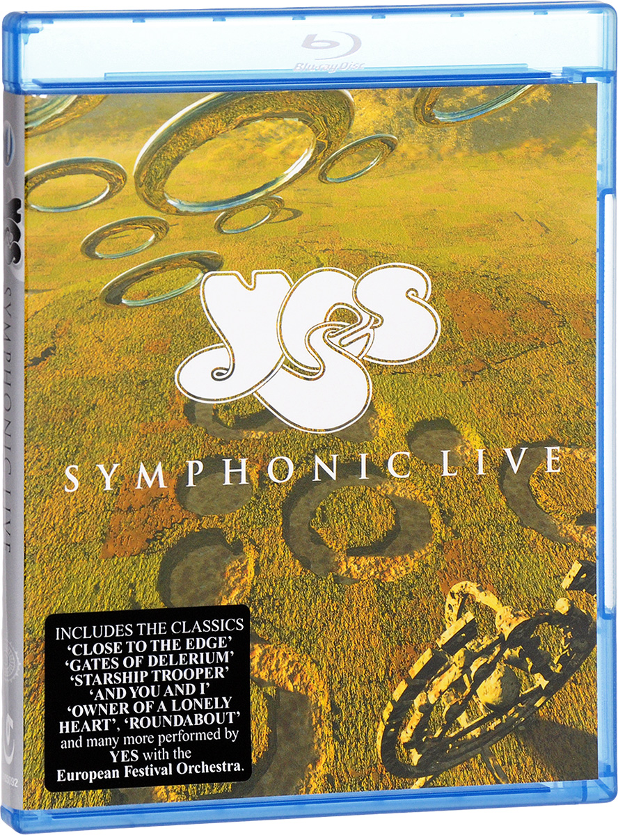 Yes: Symphonic Live (Blu-ray) yes yes close to the edge lp