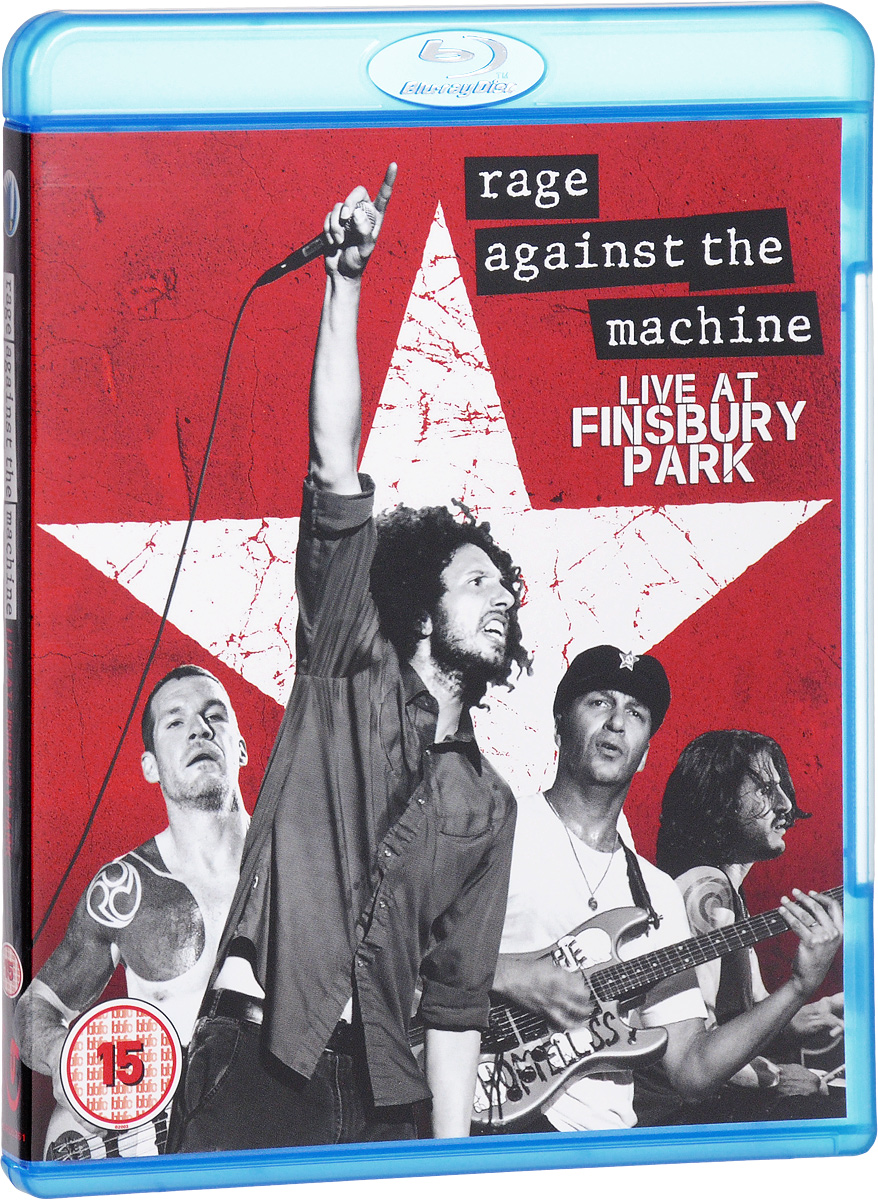 Rage Against The Machine: Live At Finsbury Park (Blu-ray) blu ray диск linkin park road to revolution live at milton keynes 1 blu ray